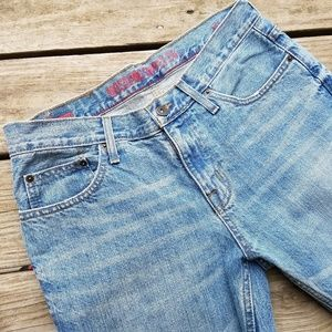 Men's Mossimo Bootcut Lt Blue jeans 32 x 32